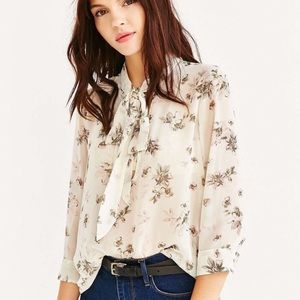 Urban Outfitters Kimchi Blue Olivia Blouse